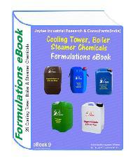 Cooling Tower Chemicals Formulations Ebook( 25 Formulations)