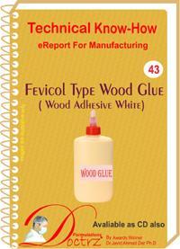 Fevicol Type Wood Glue (wood Adhesive White)