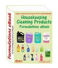 House Cleaning Products Formulations Ebook(25 Formulations)