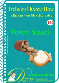 Potato Starch Manufacturing Technical Knowhow (tnhr140)