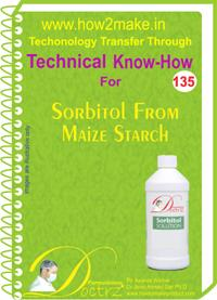 Sorbitol From Maize Starch manufacturing formula and know how