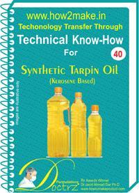 Synthetic Tarpin Oil TNHR40 Formulation (eReport)