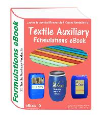 Textile auxiliary chemicals formulations eBooks( 25 formulations)