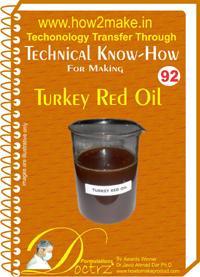 Turkey Red Oil Formulation (eReport)