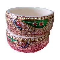 designer painted bangles
