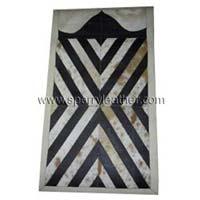 Hair On Leather Prayer Mat