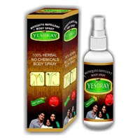 Yes Spray Herbal Mosquito Repellent Body Spray