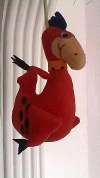 soft toy dragon
