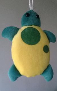 Yellow Turtle Soft Toy