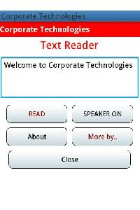Text Reader Software Services