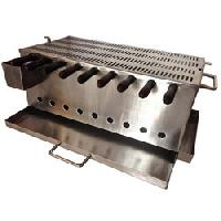 Stainless Steel Charcoal Grill