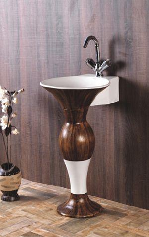 Antique Pedestal Wash Basins