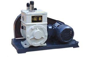 2wx- A Series Belt Drive Rotary Vane High Vacuum Pump
