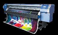 digital solvent flex printer