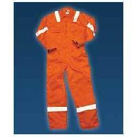 Cotton Boiler Suit With Reflective Tap