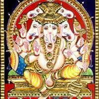Tanjore Paintings of Ganesha
