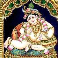 Tanjore Paintings of Krishna