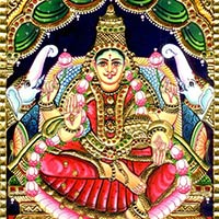 Gajalakshmi Tanjore Paintings