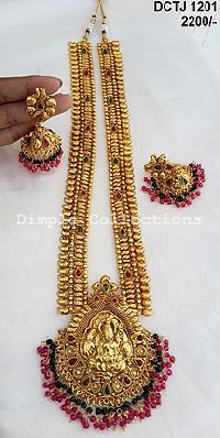 Temple Jewellery - Manufacturers, Suppliers & Exporters in ...  Davanam