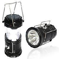 Solar Camping Light With Mobile Charge 8 Led Bulb