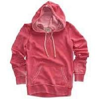 Ladies Hooded Pullover
