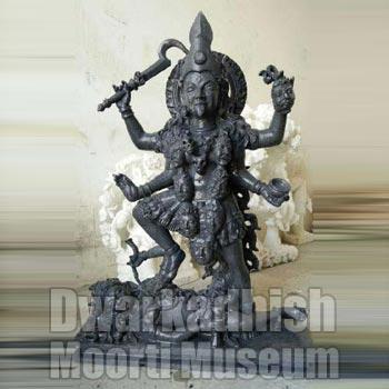 Marble Maa Kali Statue