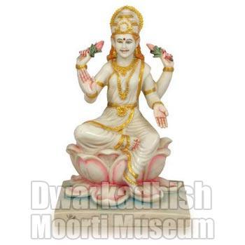 Cultural Marble Laxmi Statue