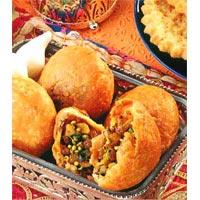 Indian Appetizer, Dal Kachori