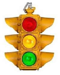 Hanging Traffic Signal Light