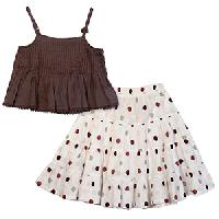 Children Skirt Top