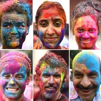 Herbal Holi Colour Powder
