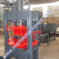 Semi Automatic Fly Ash Bricks Making Machine