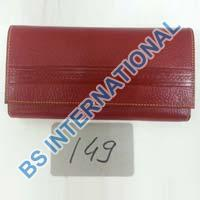 Leather Ladies Clutch Purses