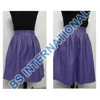 Leather Ladies Skirts