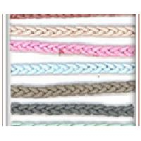 Round String Braided Leather Cords