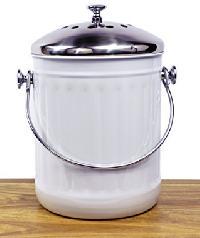 Misc Home Indoor Kitchen Non Stick Stainless Steel Compost Bin