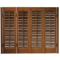 wooden window shutters