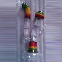 Glass Smoking Oil Bubbler