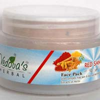 Red Sandal Face Pack