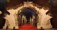 wedding welcome gates
