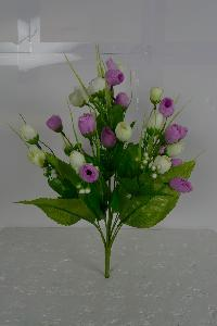 Artificial Bud Roses Flower  Bunch
