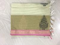 Handloom Cotton Fancy Saree