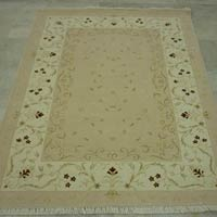Indian Hand Knotted Woollen Carpet