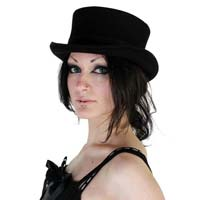 Womens Dressage Wool Top Hat