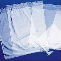 transparent plastic bags.