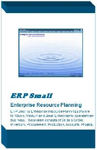 Erp Software For Small Scale Industries