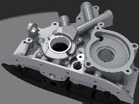 Frp Two Wheeler Engine Cover