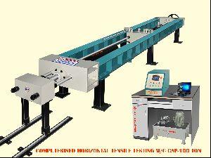 Horizontal Tensile Testing Machine 100 Tones