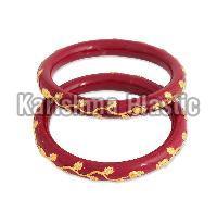 Acrylic Sanka Bangles