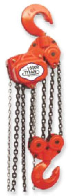 Titan Chain Pulley Block